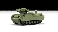 Wicket AFV (John Moffatt) Tags: lego afv armored vehicle tank destroyer central efrikkan republic