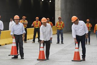 Apertura de paso en túneles Masferrer.