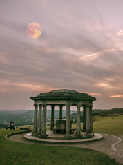 Red moon at Reigate Hill (mark.bowering67@gmail.com) Tags: reigate hill red moon blood