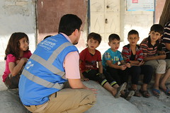 Speaking to children in East Aleppo (Ummah Welfare Trust) Tags: syria levant war poverty hunger children middle east طفل الأطفال بلاد الشام حرب جوع فقر humanitarian humanitarianism islam muslims الإسلام مسلمون
