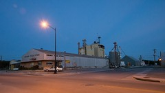 Lampasas, Texas (Oliver Leveritt) Tags: lampasas texas night nikond610 afsnikkor1635mmf4gedvr oliverleverittphotography wideangle afterdark building streetlight