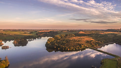 Barcraigs Reservoir - Aerial (BroProStudios) Tags: reservoir rivers water wildlife nature reflections landscape highlands scotland islands summer winter goldenhour