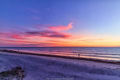 Semaphore Beach (johnwilliamson4) Tags: adelaide blue clouds landscape outdoor people semaphoresunset southaustralia water orange australia