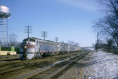 CB&Q E9 9988B (Chuck Zeiler) Tags: cbq e9 9988b burlington railroad emd locomotive naperville zephyr train chz