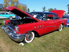 1955 Buick Roadmaster Riviera (splattergraphics) Tags: 1955 buick roadmaster riviera carshow aacaeasterndivisionfallmeet antiqueautomobileclubofamerica aaca hersheypa