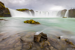 Goafoss (The Waterfall of the Gods) (Jonas Ottos) Tags: water waterfall goafoss smooth longexposure lowangle iceland foreground flow wideangle power canoneos5dmarkiii canonef1635f28usml manfrotto