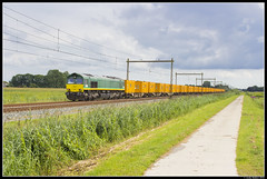 Rhein Cargo DE67, Herxen (J. Bakker) Tags: class66 rhein cargo de67 nederland 42786