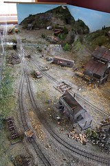 Model Railroad (demeeschter) Tags: canada yukon territory whitehorse copperbelt railway mining museum attraction train ride industrial