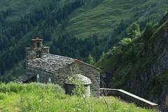 chapelle St-Jean (bulbocode909) Tags: valais suisse dixence chapelles chapellestjean montagnes nature forts arbres vert