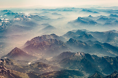 Misty Alps (ole) Tags: west valleys viewed from plane back paris july 2016