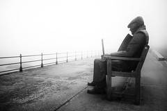 Dedicated (.willwalker) Tags: 16stop bw blackandwhite bnw fog freddygilroy landscape le mono monochrome nd neutraldensity northbay northernart pavement raylonsadale scarborough sculpture sea seaside shadow shore sombre steel tworedrubberthings ukengland yorkshire
