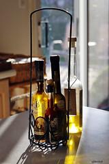 Kitchen oils. (Gillian Floyd Photography) Tags: kitchen olive oil balsamic vinegar