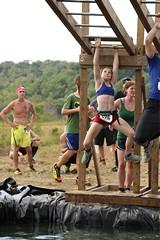 Cliff Hanger Obstacle (OakleyOriginals) Tags: conquerthegauntlet race obstacles torpedo wallsoffury stairwaytoheaven cliffhanger tulsa ok august 2016 challenge strength fitness competitive medals