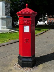 Worcester, Worcestershire (Oxfordshire Churches) Tags: worcester worcestershire panasonic lumixgh3 england uk unitedkingdom johnward royalmail postboxes letterboxes mailboxes vr pillarboxes penfold jwpenfold hexagonal wr114 pb10064 replicapostboxes machanengineering