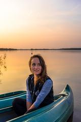 Pocahontas II (deyveone) Tags: pocahontas woman sunset kajak kanu boat water leipzig markkleeberg sun summer