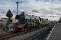 60103 'Flying Scotsman' at Kidderminster (Hope Trains) Tags: severnvalleyrailway flyingscotsman locomotive svr 60103 kidderminster steam