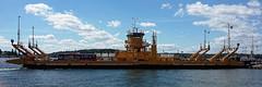 A fleet of ferries (kate&drew) Tags: 2016 june stockholmarchipelago sweden vaxholm ferry