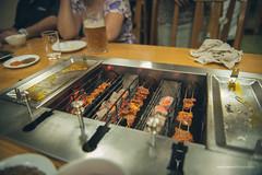 North Korean BBQ (reubenteo) Tags: northkorea dprk food lunch dinner steamboat kimjongun kimjongil kimilsung korea asia delicacies
