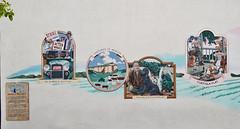 John Steinbeck Mural (left side) (charlottes flowers) Tags: mural johnsteinbeck onevoicemuralproject nationalsteinbeckcenter salinas patriziajohnson melmatthewson montereycounty
