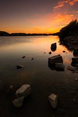 Rhoose (Pentax Gareth) Tags: rhoose wales welsh uk sunset lastlight landscape waterscape art wallart fineart water rocks light colour color pentax k3ii sigma 1020mm hitech filters