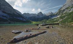... (Benny / 2B-OptiK) Tags: seebensee landscape landschaften landscapes mountains mountain coburger htte berge lake hdr sigma nature canon zugspitze