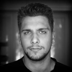 Emanuele (attilio.pirino) Tags: portrait young head bw ritratto giovane volto bn