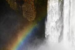 Everlasting rainbow (Sanda_I) Tags: rainbow fall skogar skogafoss iceland tourism discover landscape water weather magic texture wild nature rock