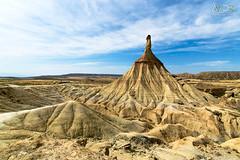Cabezo Castildetierra (avistaderender) Tags: bardenas reales naturaleza paisaje nature landscape desierto desert castildetierra