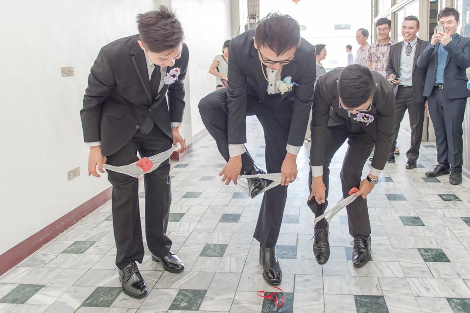 台南婚攝 情定婚宴城堡永康館 婚禮紀錄 C & V 042