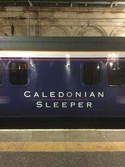 The Caledonian Sleeper runs six nights a week between Edinburgh and London. (calderwoodroy) Tags: overnightsleeper overnighttrain nightscene nightsleeper nighttrain sleepertrain sleeper sercocaledoniansleeper caledoniansleeper waverley waverleystation edinburghwaverley scotland edinburgh