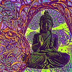 Inside the hidden chamber (Lemon~art) Tags: buddha treatthis kreativepeople chamber pattern texture manipulation fun