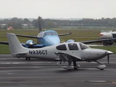 N936CT (2) Cirrus SR22 (Aircaft @ Gloucestershire Airport By James) Tags: gloucestershire airport n936ct 2 cirrus sr22 egbj james lloyds