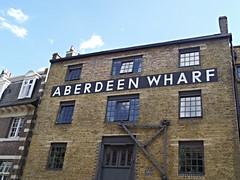 Aberdeen Wharf (Avvie_) Tags: frances coles london east spitalfields aldgate whitechapel jack ripper stepney wapping catherine wheel alley swallow gardens st georges mortuary