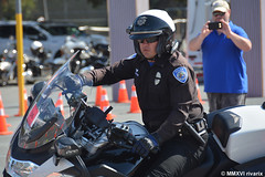 130 Lafayette - West Sacramento Police (rivarix) Tags: 2015lafayettepolicemotorcyclecompetition lafayettecalifornia policerodeo policemotorcompetition policeman policeofficer lawenforcement cops westsacramentopolicedepartment bmwpolicemotorcycle r1200rtp motorofficer