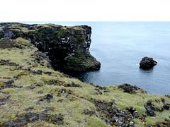 P1030803  Lava-Basaltkste bei Hellissandur (margrit_gertrud) Tags: iceland snaefellsnes lavacoast hellisandur