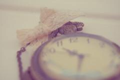 Perfect. (Lucia Cortés Tarragó) Tags: pink white clock vintage nikon soft purple time mallorca