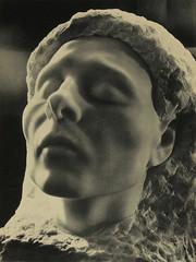 Prayer (davisson123) Tags: sculpture woman detail art history blancoynegro face statue female germany studio naked nude