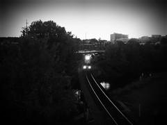 NORFOLK SOUTHERN (BLACK VOMIT) Tags: night river manchester james virginia dusk ns norfolk engine richmond southern va engines rva floodwall flickrandroidapp:filter=none