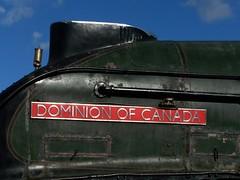 Gresley A4 60010 at Shildon (colin9007) Tags: county canada london museum durham north railway class steam national sir a4 eastern nigel locomotion nrm dominion nameplate lner 462 shildon gresley 4489 60010