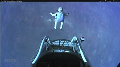 Felix Baumgartner Mission to Edge of Space (Chickenhawk72) Tags: camera usa newmexico records austria space altitude air ballon vacuum helmet roswell flight atmosphere capsule screenshots hose landing oxygen helium edge hatch canister limit spacesuit visor streaming stratosphere parachute missionaccomplished freefall troposphere umbilical soundbarrier youtube infraredcamera airboyd kittinger felixbaumgartner redbullstratos missiontoedgeofspace