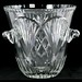 206. Large Crystal Ice Bucket