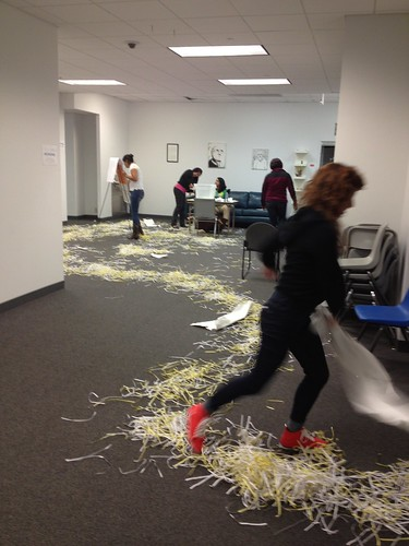 Shredded Paper Trail