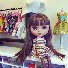 A girl and her wardrobe #blythe