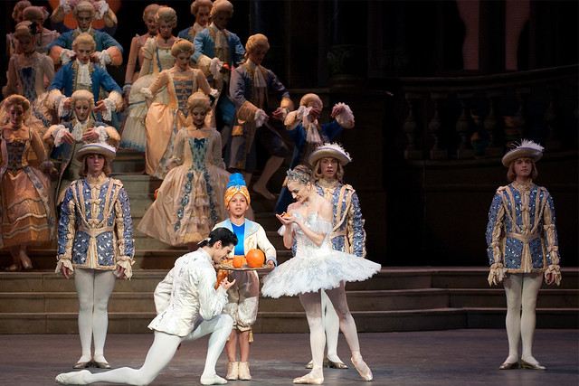 "Thiago Soares as The Prince and Marianela Nuñez as Cinderella in Frederick Ashton's Cinderella. The Royal Ballet 2010  <a href=""http://www.roh.org.uk"" rel=""nofollow"">www.roh.org.uk</a>"