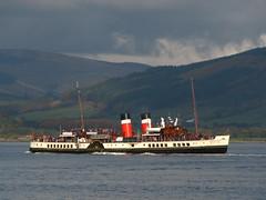 PS Waverley (ufopilot) Tags: scotland boat ship paddle ps steamer waverley bute rothesay