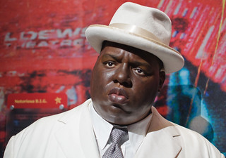 Notorious B.I.G. at Madame Tussaud's New York
