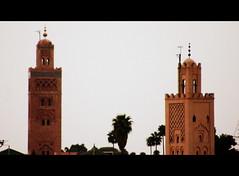Mosqu La Koutoubia, Marrakech (med-amine) Tags: marrakech mosqu lakoutoubia