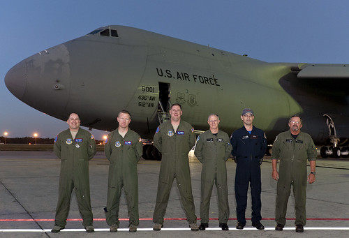 C-5M Joint Flight a Success