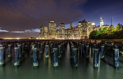 The sticks (odin's_raven) Tags: new york city nyc newyorkcity longexposure nightphotography blue urban usa ny newyork colour building apple skyline architecture brooklyn night america photoshop geotagged photography big sticks high nikon long exposure cityscape colours nightshot dynamic sundown manhattan exploring dumbo wideangle explore urbanexploration hour processing bluehour posts raven range hdr highdynamicrange urbanexploring moorings photorealism postprocessing photomatix nikor 1424 odins d700 1424mm hdrcreativeshots odinsraven odinsravenphotography
