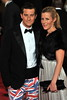 Bear Grylls and guest Royal World Premiere of Skyfall held at the Royal Albert Hall - London, England